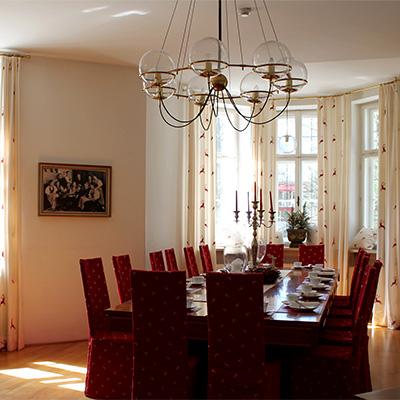 Villa Trapp Innenansicht - Salon