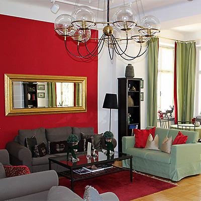 Villa Trapp Innenansicht - Suite Detailansicht