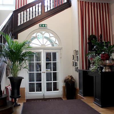 Villa Trapp Innenansicht - Eingangsbereich